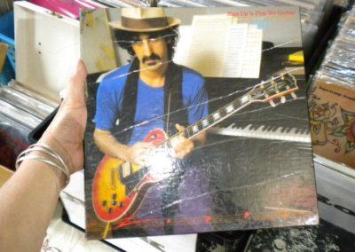 frank zappa vintage vinyl at sowa vintage market boston